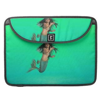 Mermaid Bubbles Sleeve For MacBook Pro