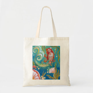 Mermaid Budget Tote by Campbell Jane