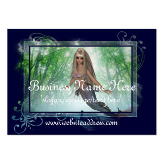 Mermaid Business Card :: Beautiful Blonde Tag D3