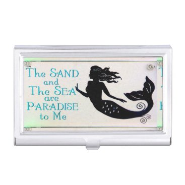 Professional Business mermaid business card holder