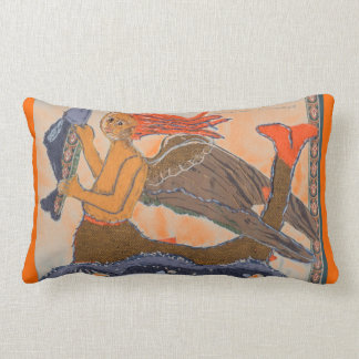 Mermaid by Alexandra Cook Lumbar Pillow