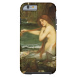 Mermaid by JW Waterhouse, Victorian Mythology Art Tough iPhone 6 Case