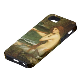 Mermaid by JW Waterhouse Victorian Mythology Art iPhone 5 Cases
