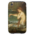 Mermaid by JW Waterhouse, Victorian Mythology Art iPhone 3 Tough Cover