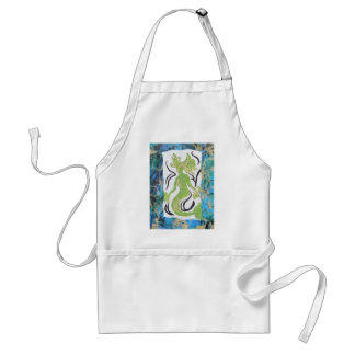 Mermaid by Laurie Mitchell Adult Apron