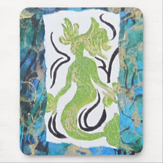Mermaid by Laurie Mitchell Mousepad