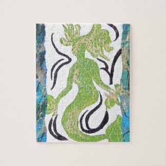 Mermaid by Laurie Mitchell Jigsaw Puzzle