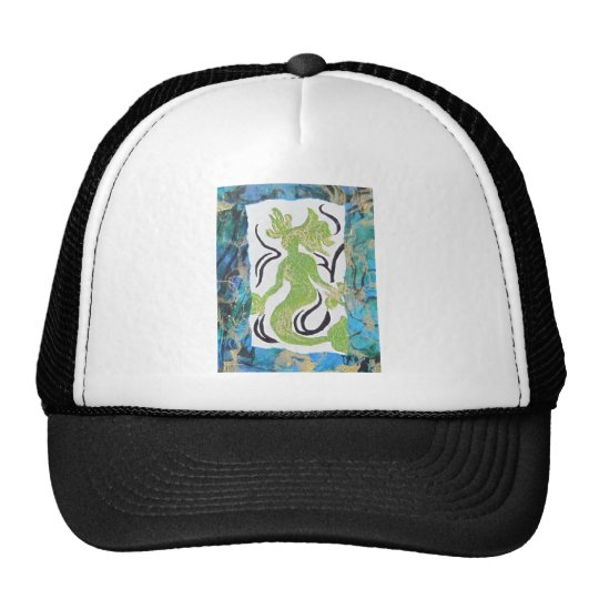 Mermaid by Laurie Mitchell Trucker Hat