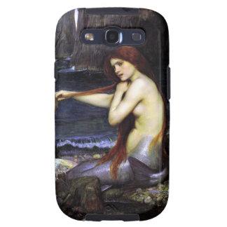 Mermaid by Waterhouse Samsung Case Galaxy S3 Case