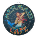 Mermaid Cafe Sign Dartboards