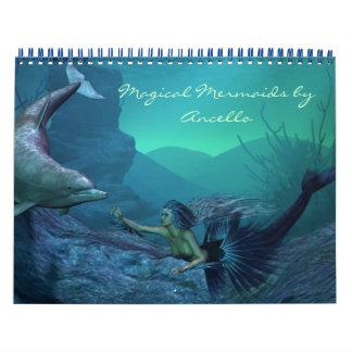 mermaid calendar