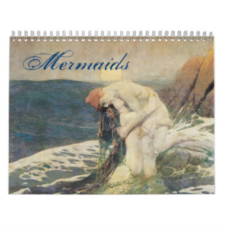 Mermaid Calendar