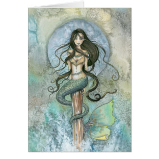 Mermaid Card by Molly Harrison