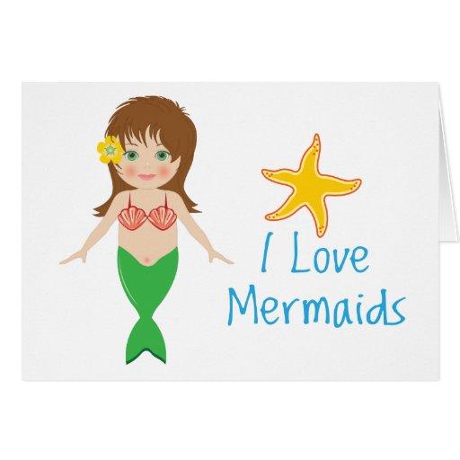 Mermaid Card/Invitation Template : Zazzle