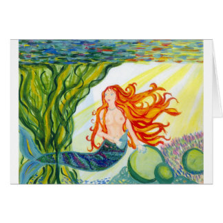 mermaid cards