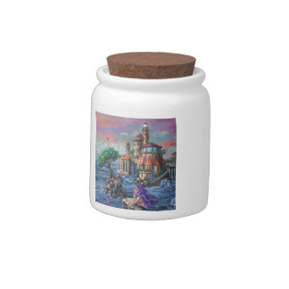 Mermaid Castle Candy Jars
