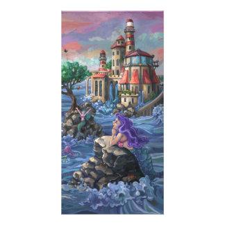 Mermaid Castle Card