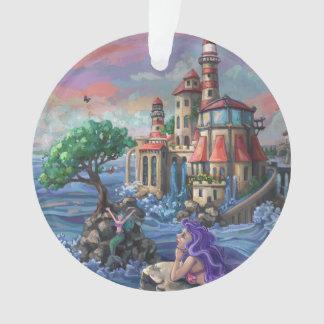 Mermaid Castle Ornament