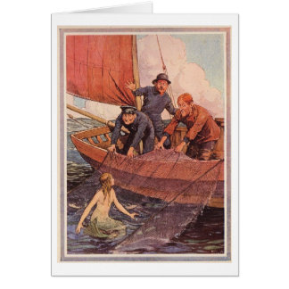 Mermaid: Catch of the Day Card