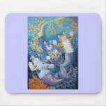 MERMAID CATS MOUSE PAD