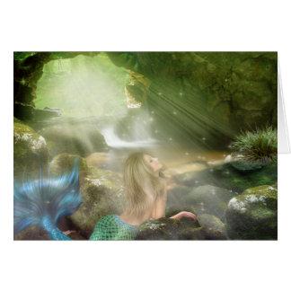 Mermaid Cave Note Card