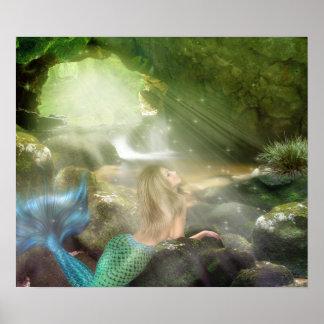 Mermaid Cave Poster
