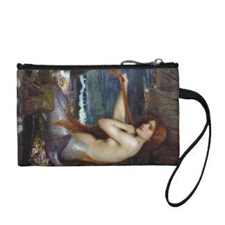 Mermaid Combing Her Hair Coin Wallet