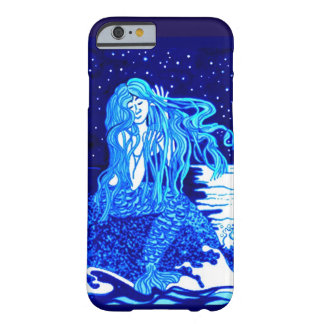 Mermaid combing her hair barely there iPhone 6 case