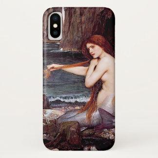 Mermaid Combing Her Hair - Waterhouse iPhone X Case