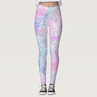 Mermaid: Comet, Polar, Persian Rose, Ice Leggings
