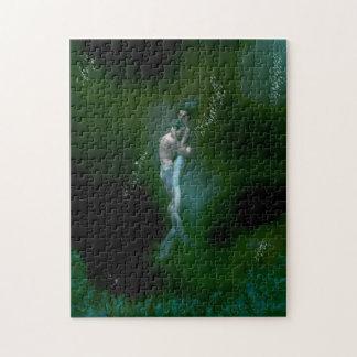 Mermaid Couple Puzzle