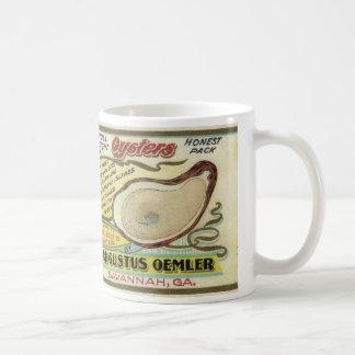 Mermaid Cove Oysters Coffee Mug