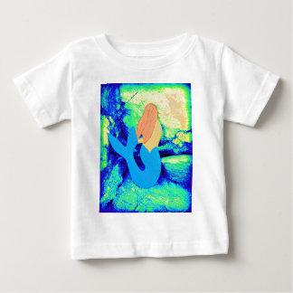 mermaid design baby T-Shirt