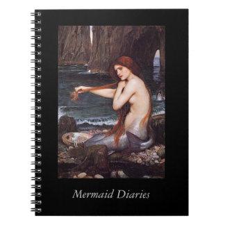 Mermaid Diaries Notebook
