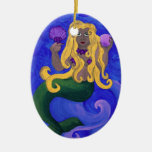 Mermaid Diva Ornaments