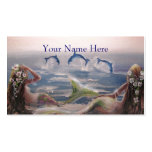 Mermaid & DolphinsProfile Card Business Card Templates