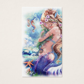 Mermaid & Dragon Business Card