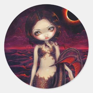 """""""Mermaid Eclipse"""" Sticker"""