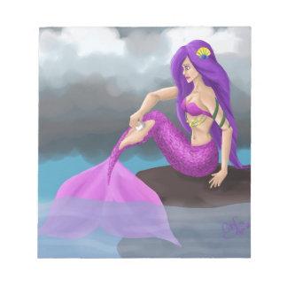 Mermaid erase note pad