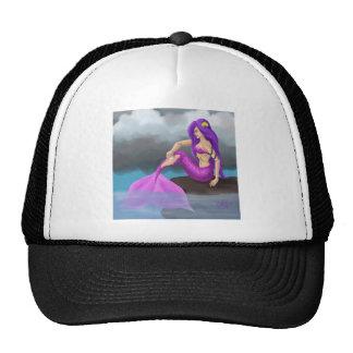 Mermaid erase trucker hat