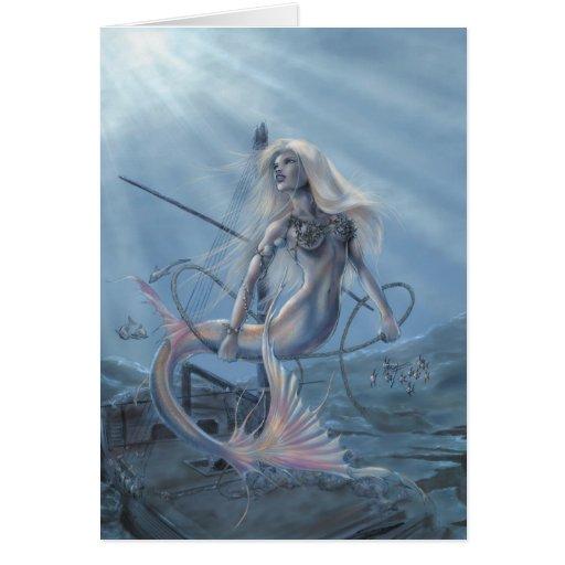 Mermaid Explorer Card