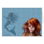 Mermaid Fae Card