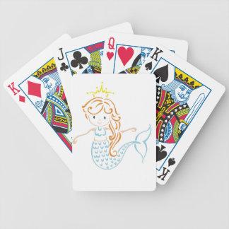 Mermaid Fairy Deck Of Cards