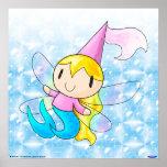 Mermaid Fairy Princess print