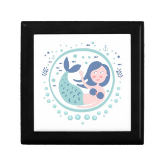 Mermaid Fairy Tale Character Keepsake Box