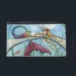 "Mermaid Fantasy Art Wrist Clutch Bag Purse<br><div class=""desc"">Thanks for looking!</div>"