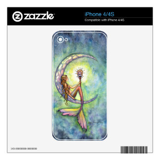 Mermaid Fantasy Fairy Art by  Molly Harrison Decal For iPhone 4