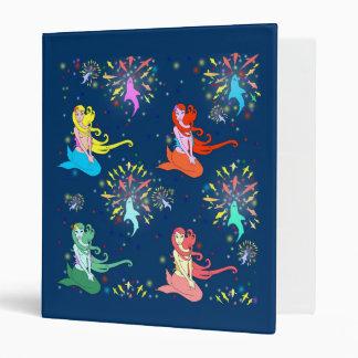 Mermaid Fireworks Binder