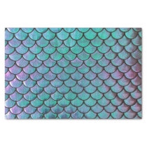 mermaid fish scale pattern tissue paper
