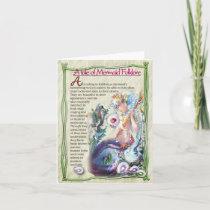Mermaid Folklore Note Card